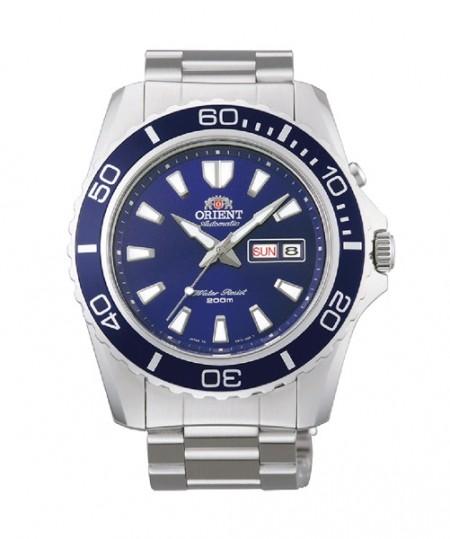 Orient Blue Mako XL bleu