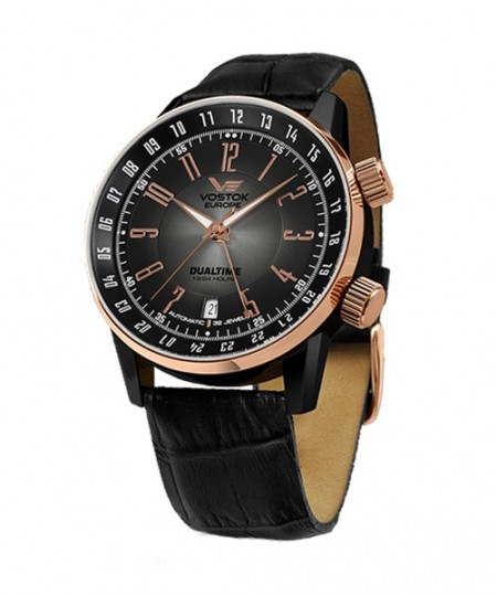 montre-vostok-europe-gaz-14-limousine-or-noir