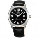 cuir chicane noir montre