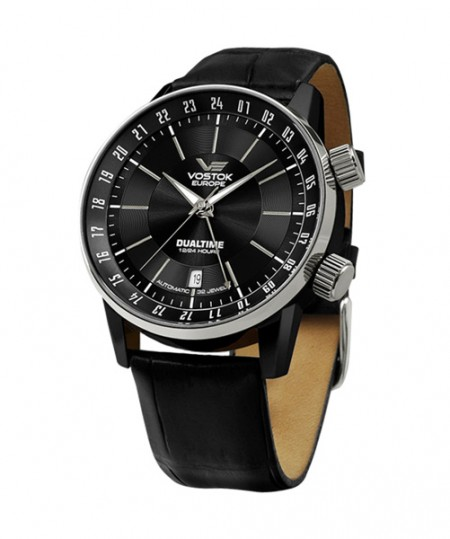 VOSTOK EUROPE AUTOMATIC black noir automatique
