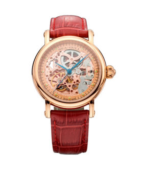 SEA-GULL ROSE GOLD SKELETON