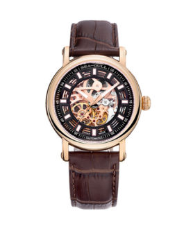 SEA-GULL ROSE GOLD SKELETON 2
