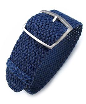 Bracelet Bleu Perlon