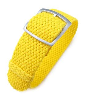 Bracelet Perlon Jaune Yellow Strap