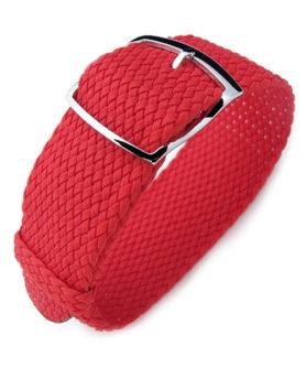 Bracelet Strap Perlon Red Rouge