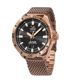 VOSTOK-EUROPE GOLD STEEL ALMAZ