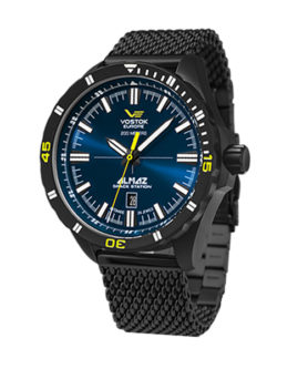 VOSTOK-EUROPE STEEL BLUE ALMAZ