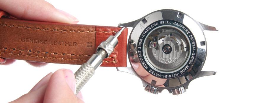 comment changer le bracelet de votre montre montre. Black Bedroom Furniture Sets. Home Design Ideas