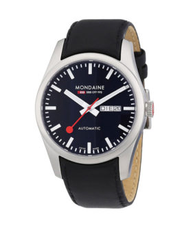 MONDAINE RAILWAY RETRO BLACK
