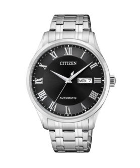 CITIZEN DEEP BLACK ROMAN NUMERAL
