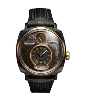 REC 2 WATCH P 51 Black Gold