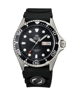 ORIENT RAY 2 BLACK RUBBER