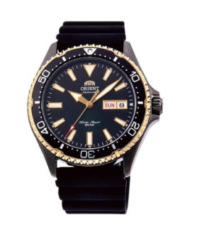 ORIENT MAKO 3 BLACK GOLD RUBBER COLLECTION