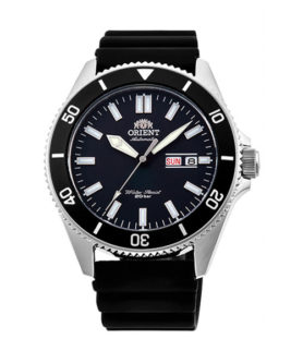 ORIENT RAY 3 BLACK RUBBER