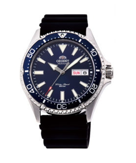 ORIENT MAKO 3 BLUE RUBBER COLLECTION