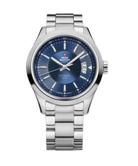 SWISS MILITARY DATE BLUE