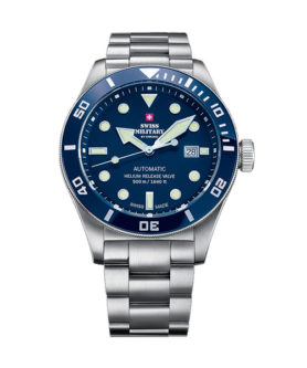 SWISS MILITARY DEEP BLUE 500M