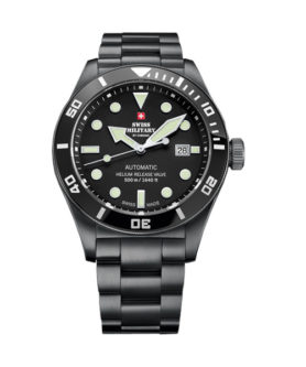 SWISS MILITARY DEEP BLACK 500M