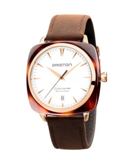 BRISTON CLUBMASTER ICONIC ACÉTATE GOLD