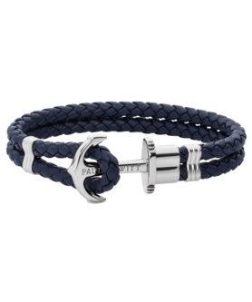 Paul Hewitt Bracelet Ancre Phrep Argenté