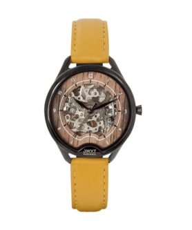 D.W.Y.T ODYSSEY CUIR LISSE JAUNE MOUTARDE